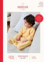 Sirdar Snuggly Bouclette Knitting Pattern Booklet - 5254 Sleeping Bags